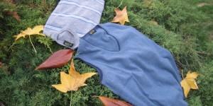 fin. 12 pullover V s/m con contrasti colore e maglia collo giro a righe